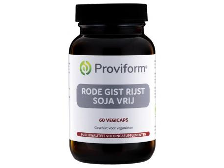 Proviform Red yeast rice 600mg Soya Free 60vc