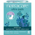 Natracare Sanitary towel with wings 10st