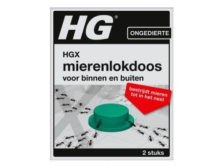 HG X mierenlokdoos 2st