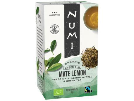 Numi Green tea rainforest mate lemon 18st
