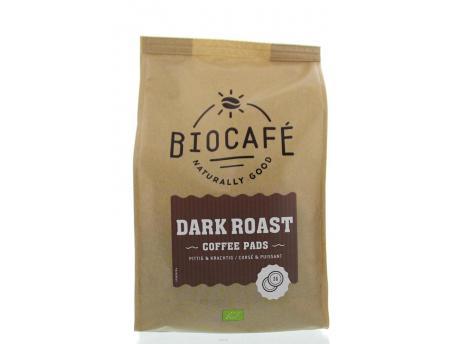 Biocafe Coffee pads dark roast 36st