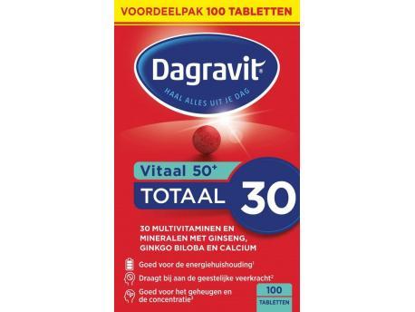 Dagravit Totaal Vital 50+ 100tab
