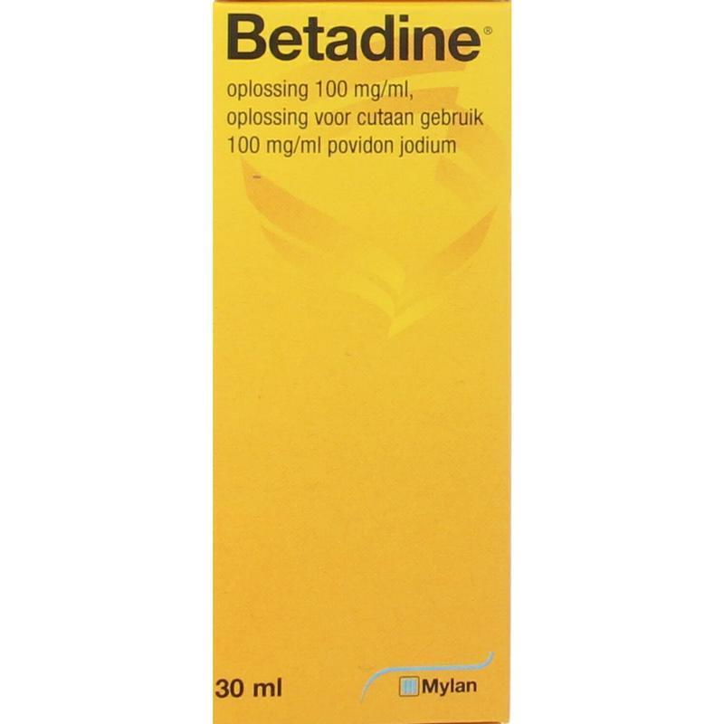 Afbeelding van Betadine Oplossing 30ml