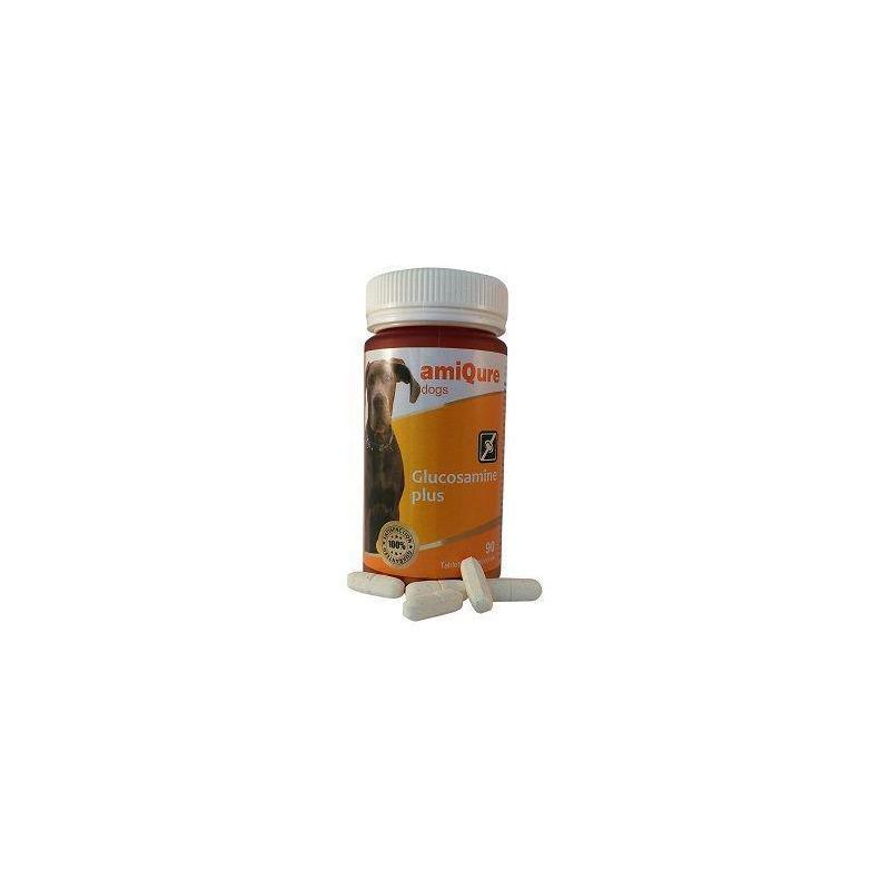 Afbeelding van Amiqure Hond glucosamine big size 90tab