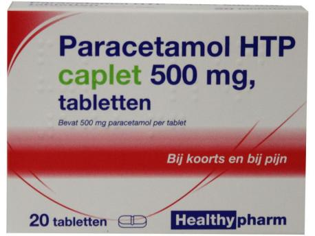 Healthypharm Paracetamol caplet both 500 20tab