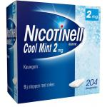 Nicotinell Kauwgom cool mint 2mg 204st
