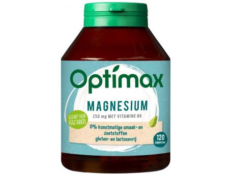 Optimax magnesium Citrate 250mg + vit B6 120tab