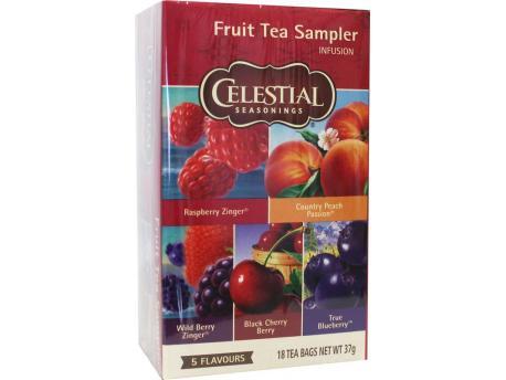 Celestial Season Fruit sampler herb tea 18st