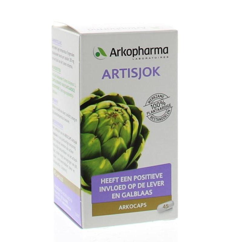 Afbeelding van Arkocaps Artisjok 45cap