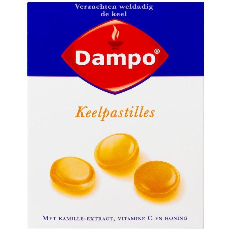 Afbeelding van Dampo Keelpastilles (24past)