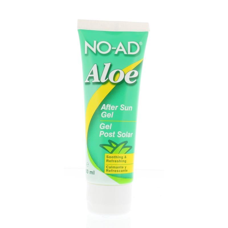 Aloe vera gel after sun tube
