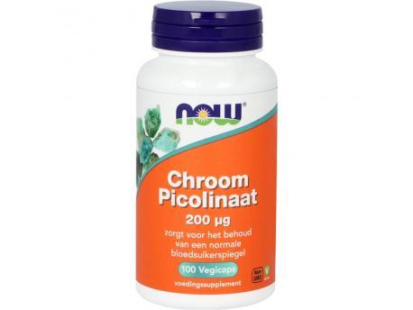 NOW Chroom Picolinaat 200mcg 100cap