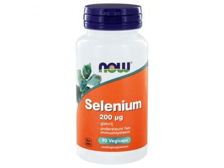 NOW Selenium 200 mcg yeast free 90vc