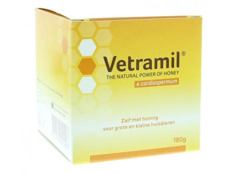 Vetramil Wondzalf honing pot 180g