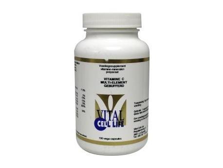 Vital Cell Life Vitamine C multi element gebufferd 100cap