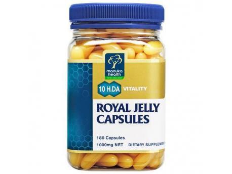 Nieuw Zeeland Royal Jelly 180cap