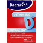 Dagravit Vitaal 50+ vitamine D pot 250tab