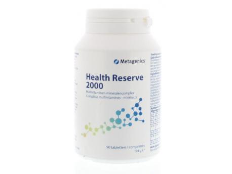 Metagenics Health reserve 2000 90tab