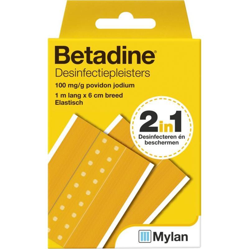 Afbeelding van Betadine Desinfecterende pleister 1m x 6 cm 1mx6cm