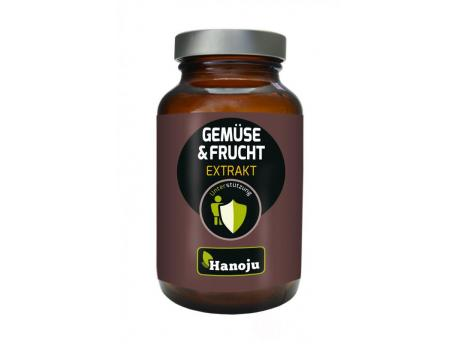 Hanoju vegetables and fruit extract 400mg 90vc