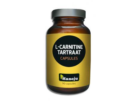 Hanoju L-Carnitine L-Na tartrate 500mg 90vc