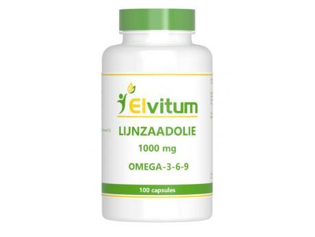 Elvitaal Lijnzaadolie omega 369 100cap
