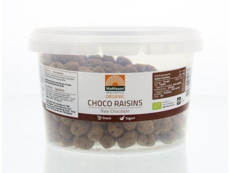 Mattisson Absolute raw choco raisins bio 200g