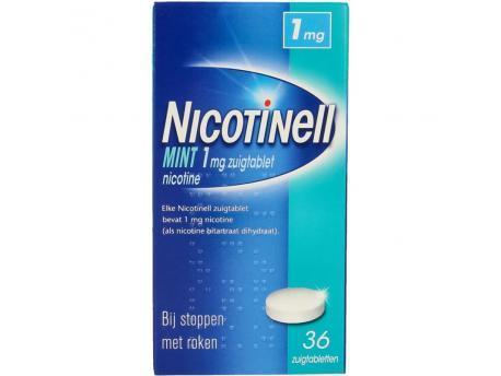 Nicotinell Zuigtablet 1mg 36stuks