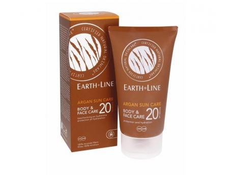 Earth-Line Argan bio sun face and body 150ml
