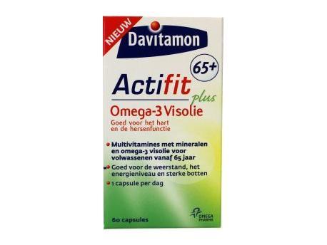 Davitamon Actifit 65plus Visolie 60tabl