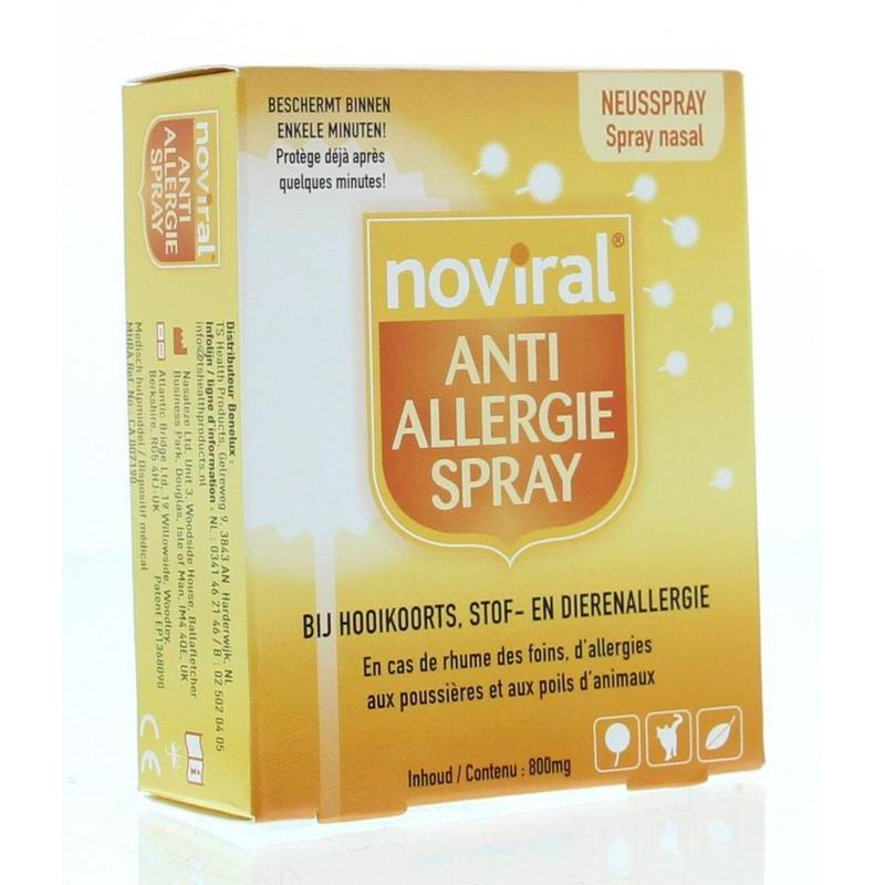 Noviral anti allergie spray for Huisstofmijt spray