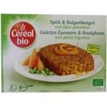 Cereal Spelt & bulgur burger met fijne groenten 200g
