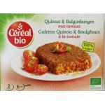 Cereal Quinoa tomato burger 200g