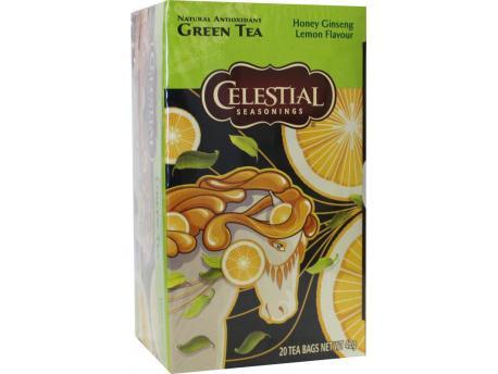Celestial Season Honey lemon ginseng green tea 20st