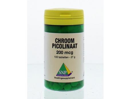 SNP Chromium Picolinate 200 mcg 100tab