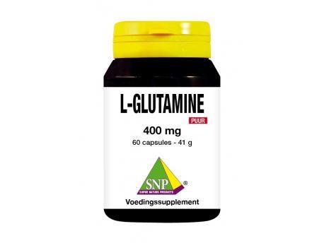 SNP L-Glutamine 400 mg pure 60cap
