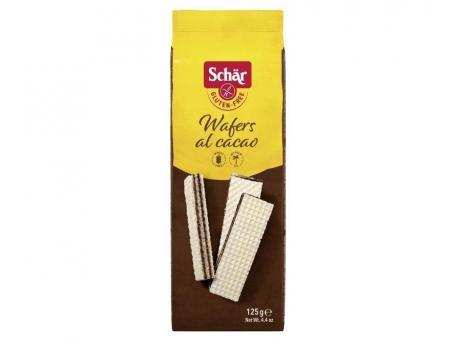 DR Schar Wafels chocolade 125g