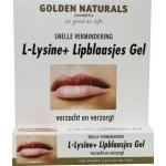 Golden Naturals L-Lysine+ lipblaasjes gel tube 15ml