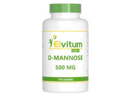 Elvitaal D-mannose 500 mg 120cap