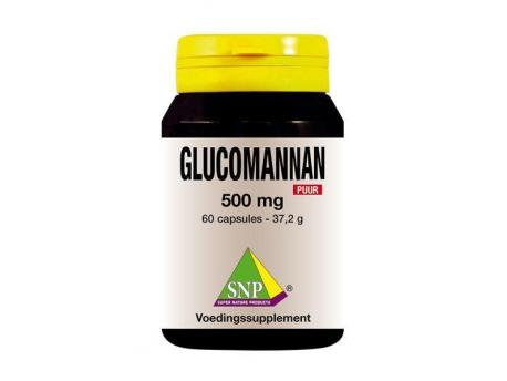 SNP Glucomannan 500 mg pure 60cap