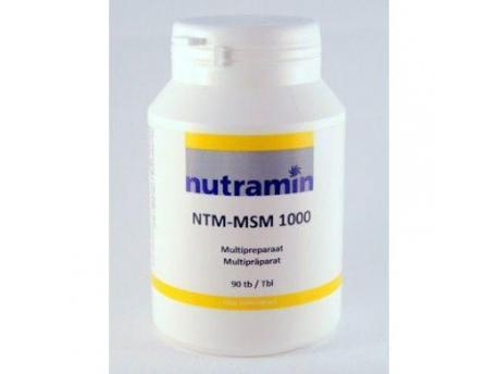 Nutramin NTM MSM 1000 90tab