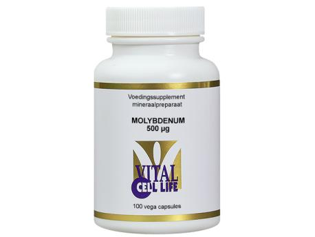 Vital Cell Life Molybdenum 500mcg 100cap