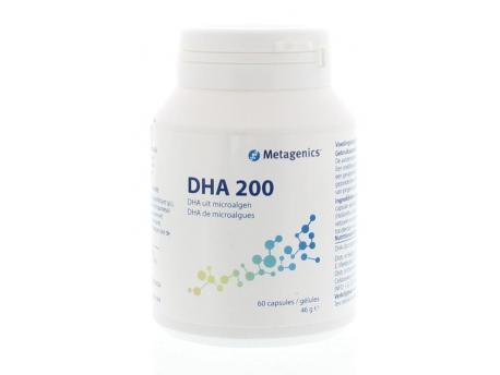 Metagenics DHA 200 potje 60cap
