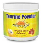 Natures Life Taurine Powder 100% pure 335g
