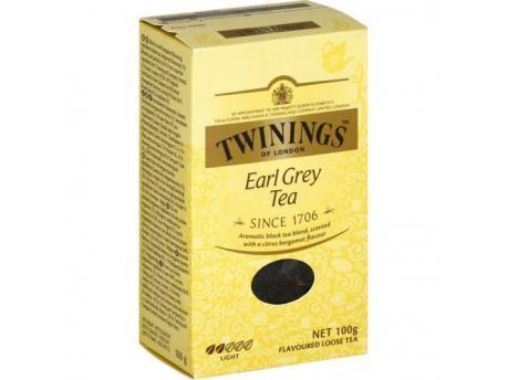 Twinings Earl grey karton 100g
