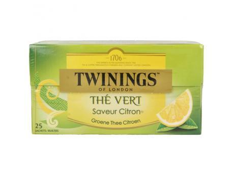 Twinings groene thee citroen 25st