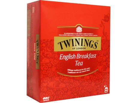 Twinings English breakfast tag 100st