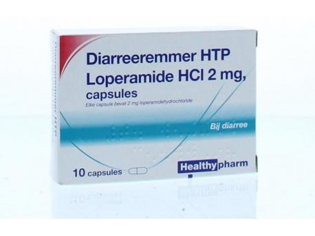 Healthypharm Loperamide 2 mg diarrhea inhibitor 10cap