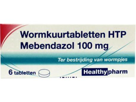 Healthypharm Mebendazol / deworming treatment 6tab