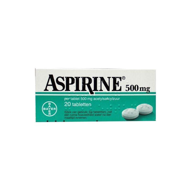 Afbeelding van Aspirine 500mg 20tab